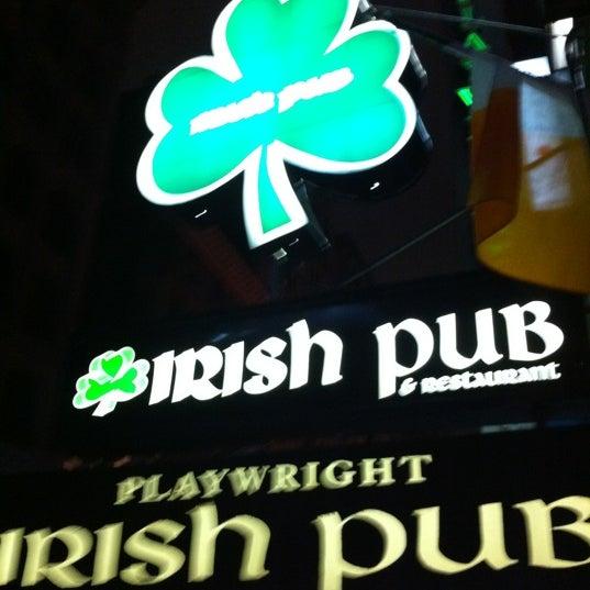 1/15/2012にPietro M.がPlaywright Irish Pubで撮った写真