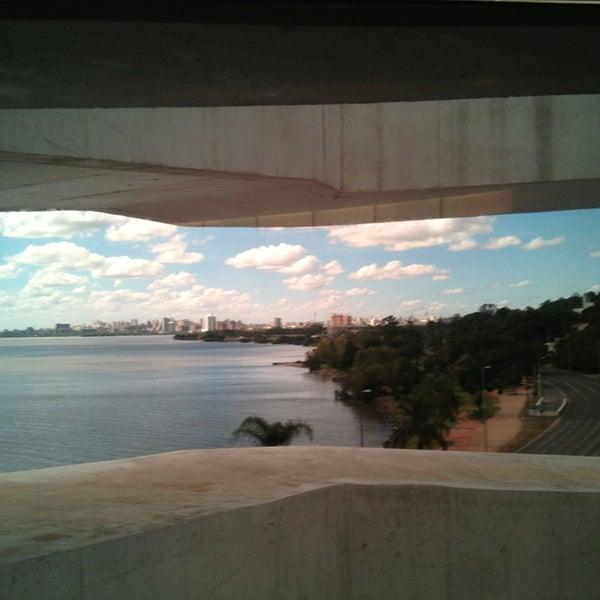 Linda vista do centro de Porto Alegre