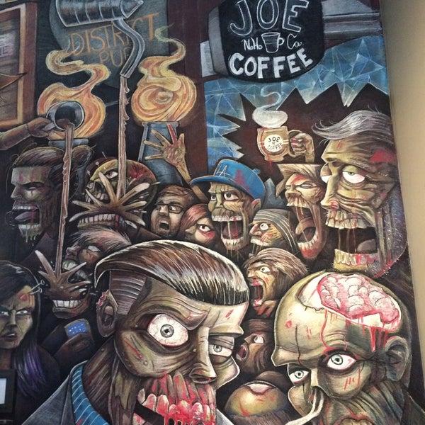 12/16/2015 tarihinde Pedro R.ziyaretçi tarafından Joe Coffee'de çekilen fotoğraf