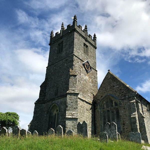 Naked church in isle of wight