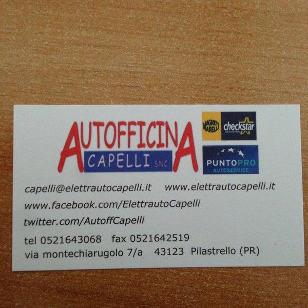 Photo prise au Autofficina Capelli par Matteo🔧 C. le4/16/2013