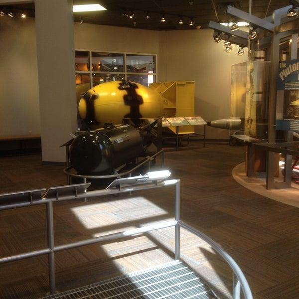 Photo taken at Bradbury Science Museum by Julie M. on 4/3/2015