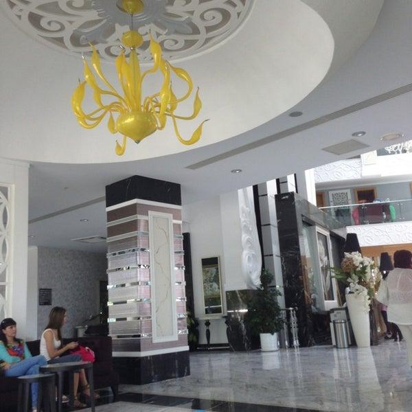8/4/2013 tarihinde Funda Ç.ziyaretçi tarafından Q Premium Resort Hotel Alanya'de çekilen fotoğraf