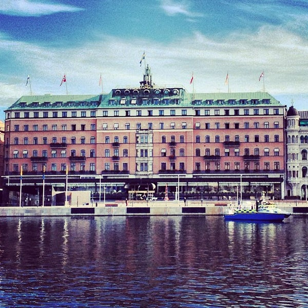 Foto tirada no(a) Grand Hôtel Stockholm por Martin T. em 9/4/2013