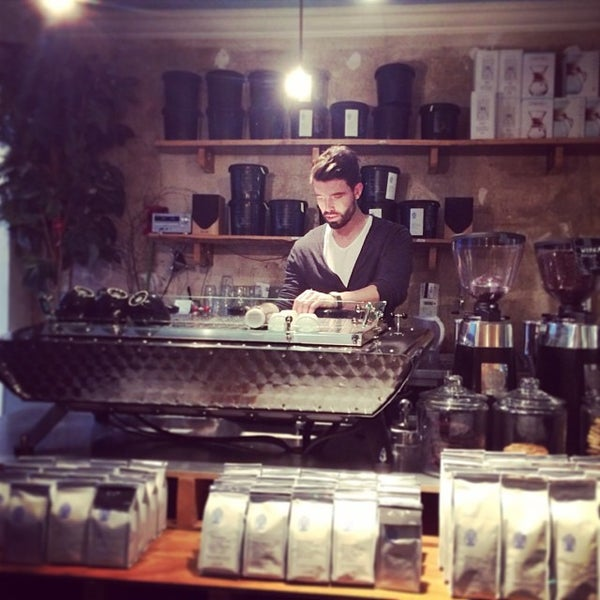 Снимок сделан в Bonanza Coffee пользователем Eelco W. 12/28/2013