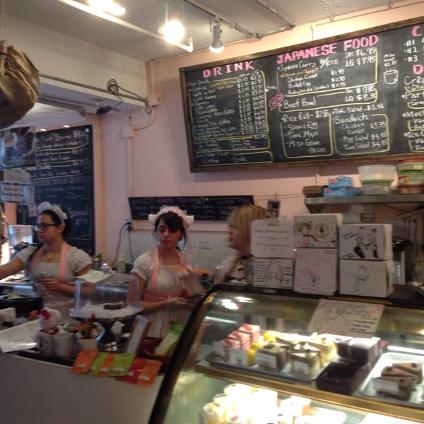 3/10/2014 tarihinde Max S.ziyaretçi tarafından Maid Cafe NY'de çekilen fotoğraf