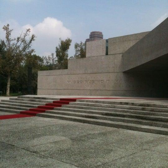 9/27/2012 tarihinde El mono con A.ziyaretçi tarafından Museo Tamayo'de çekilen fotoğraf
