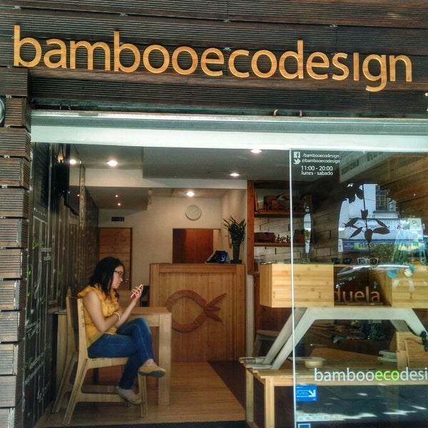 Снимок сделан в BambooEcoDesign пользователем Caminαλεχ 🚶 7/31/2014