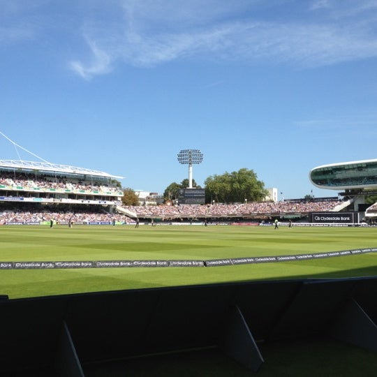 Foto tomada en Lord's Cricket Ground (MCC)  por Jinder S. el 9/15/2012