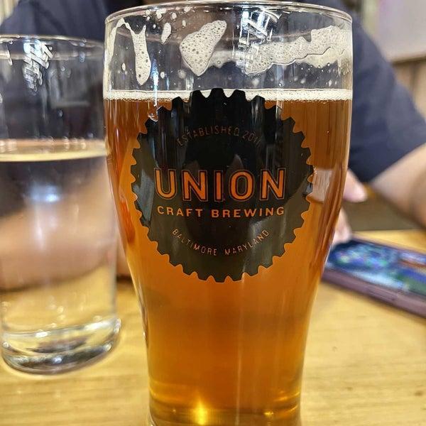 Photo taken at Union Craft Brewing by Erik R. on 8/28/2021