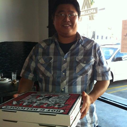 Foto scattata a Apollonia's Pizzeria da Linda Crespo D. il 10/14/2012
