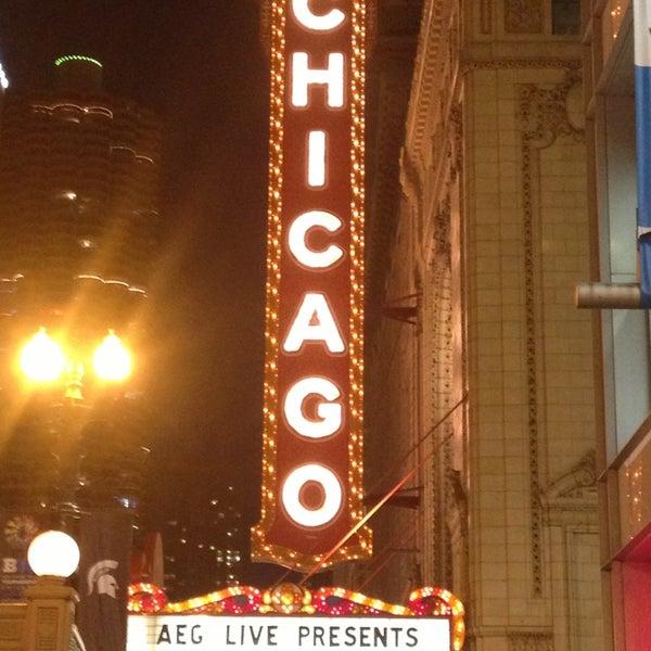 3/14/2013에 Alison L.님이 The Chicago Theatre에서 찍은 사진