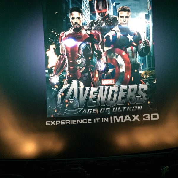 Снимок сделан в Autonation IMAX 3D Theater пользователем Alex F. 2/13/2015