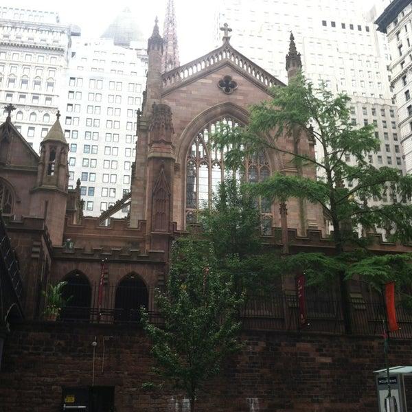 Foto tirada no(a) Trinity Church por Steve M. em 7/11/2013