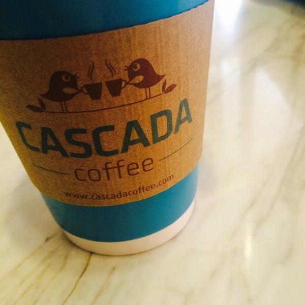 Das Foto wurde bei Cascada Coffee von Sinem A. am 4/1/2017 aufgenommen