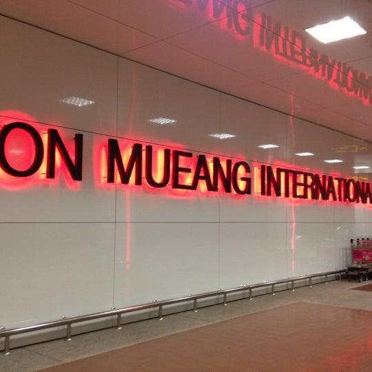 Don Mueang International Airport (DMK) ท่าอากาศยานดอนเมือง - Airport