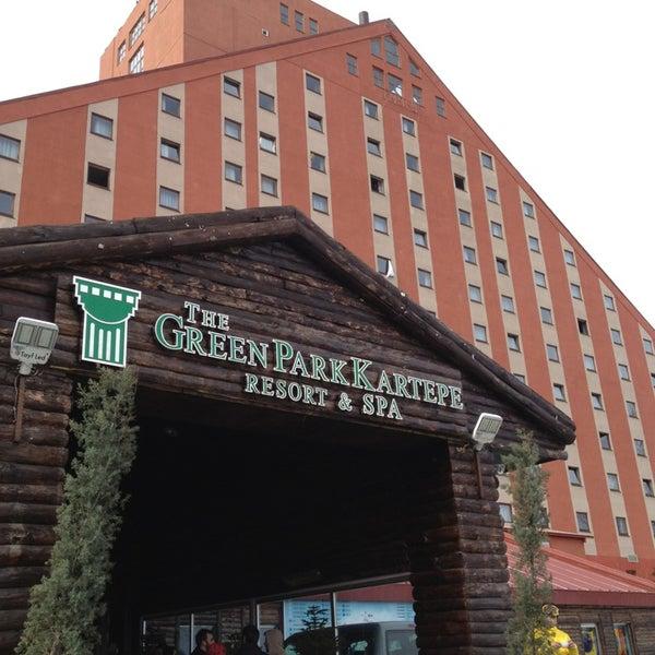 รูปภาพถ่ายที่ The Green Park Kartepe Resort & Spa โดย F A T E N เมื่อ 1/25/2013