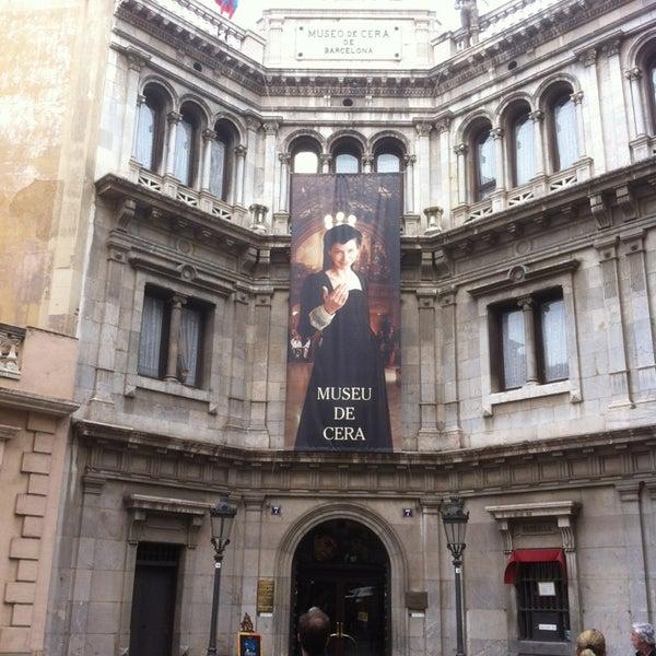 3/23/2013にCla H.がMuseu de Cera de Barcelonaで撮った写真