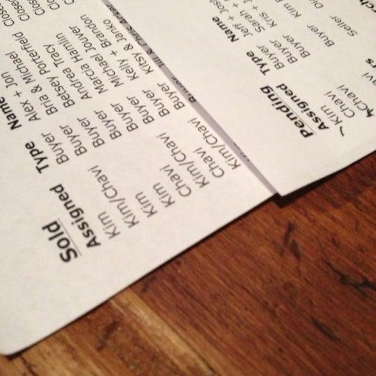 Снимок сделан в Analog Coffee пользователем Chavi H. 11/29/2012