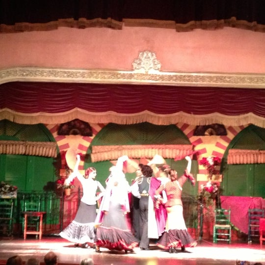 Foto tomada en Tablao Flamenco El Palacio Andaluz por Erdinc T. el 10/19/2012