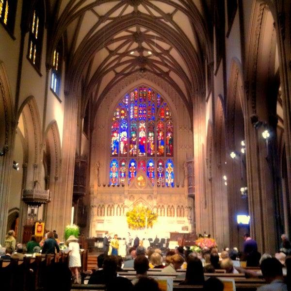 Foto scattata a Trinity Church da David K. il 3/31/2013
