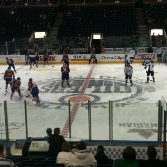 12/1/2012 tarihinde Devin S.ziyaretçi tarafından Northlands Coliseum'de çekilen fotoğraf