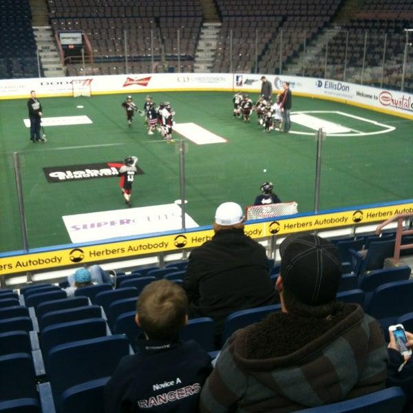 4/14/2013 tarihinde Devin S.ziyaretçi tarafından Northlands Coliseum'de çekilen fotoğraf