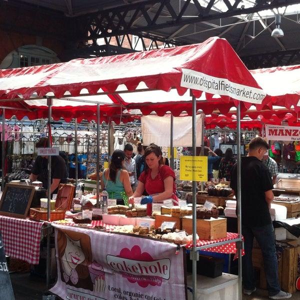 Foto tomada en Old Spitalfields Market por Kathryn J. el 7/12/2013