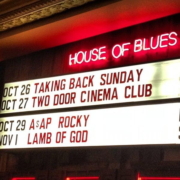 10/27/2012에 Kara M.님이 House of Blues에서 찍은 사진