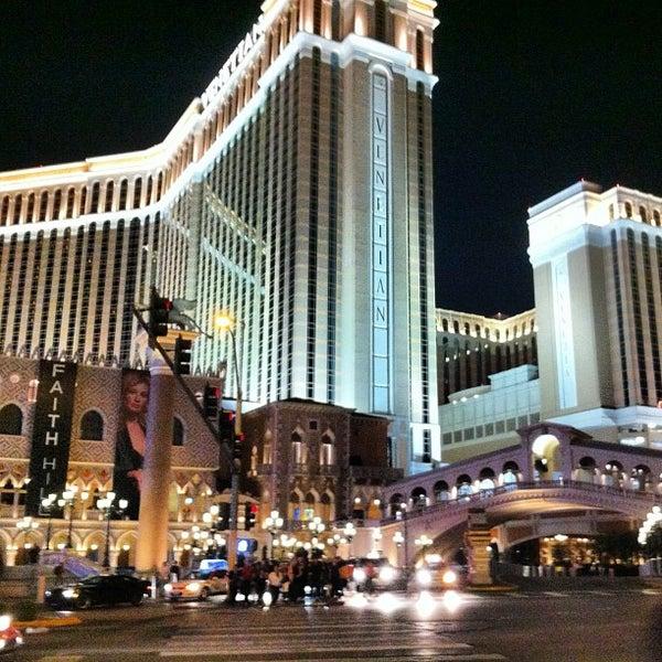 Foto tirada no(a) Venetian Resort & Casino por Juan Ignacio J. em 7/8/2013