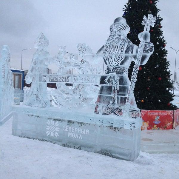 Снимок сделан в ТРК «Северный Молл» пользователем Оля Б. 1/15/2013