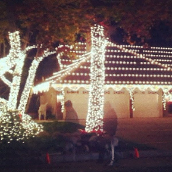Photo taken at Thoroughbred Christmas Lights by Carl A. on 12/11/2012 - Photos At Thoroughbred Christmas Lights - 16 Tips From 715 Visitors