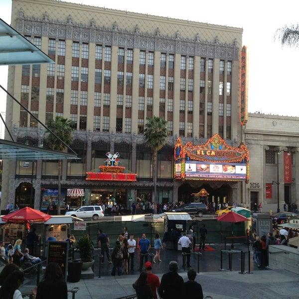 รูปภาพถ่ายที่ Hollywood & Highland Center โดย Rich B. เมื่อ 3/25/2013