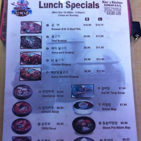 Photos At Kim S Kitchen Korean Restaurant In Glendale