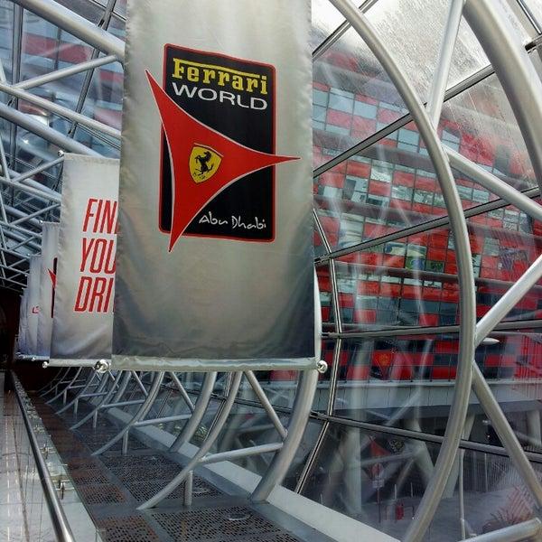 Photo taken at Ferrari World Abu Dhabi by munira. on 2/27/2013