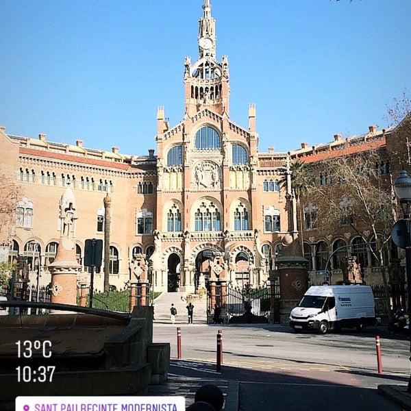 Foto tomada en Recinto Modernista de Sant Pau por СашаВяль Barceloner.com el 2/25/2019