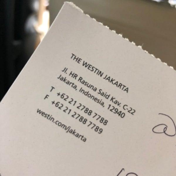 The Westin Jakarta Jakarta Selatan 15 Tips