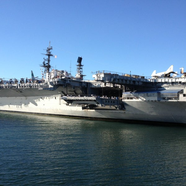 Photo taken at USS Midway Museum by Jingran Z. on 1/12/2013