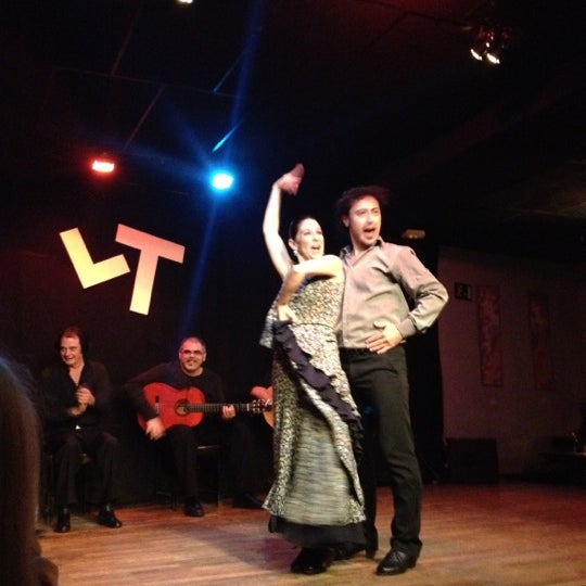 Снимок сделан в Las Tablas Tablao Flamenco пользователем Magnus H. 11/2/2012