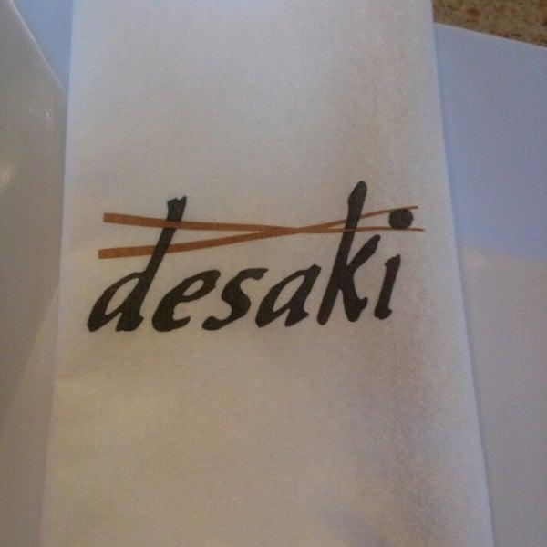 7/3/2013 tarihinde Tee J.ziyaretçi tarafından Desaki Japanese Restaurant'de çekilen fotoğraf