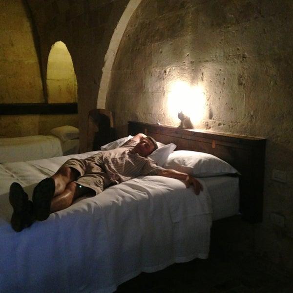 Снимок сделан в Sextantio | Le Grotte della Civita пользователем Ilya V. 8/1/2013