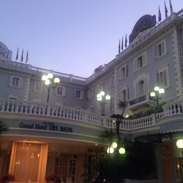 6/9/2014にA013がGrand Hotel Des Bainsで撮った写真