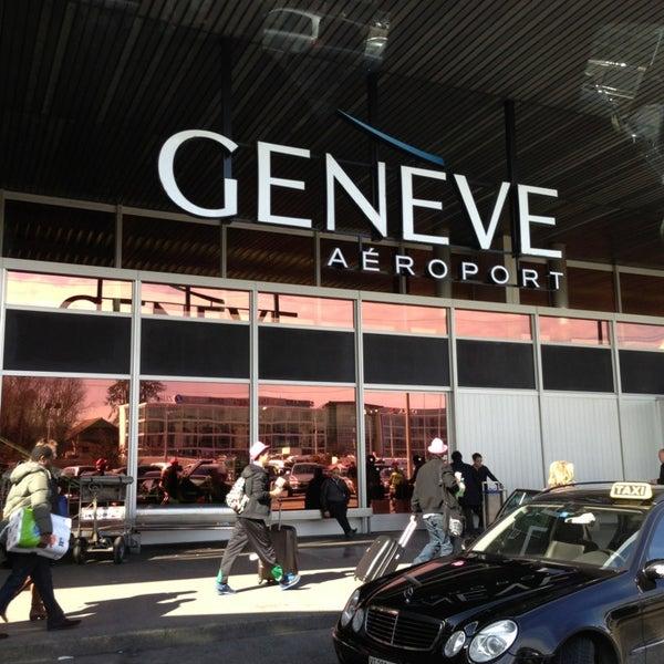 Photo prise au Aéroport de Genève Cointrin (GVA) par S T. le3/10/2013