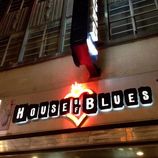 11/16/2012 tarihinde Laura W.ziyaretçi tarafından House of Blues'de çekilen fotoğraf
