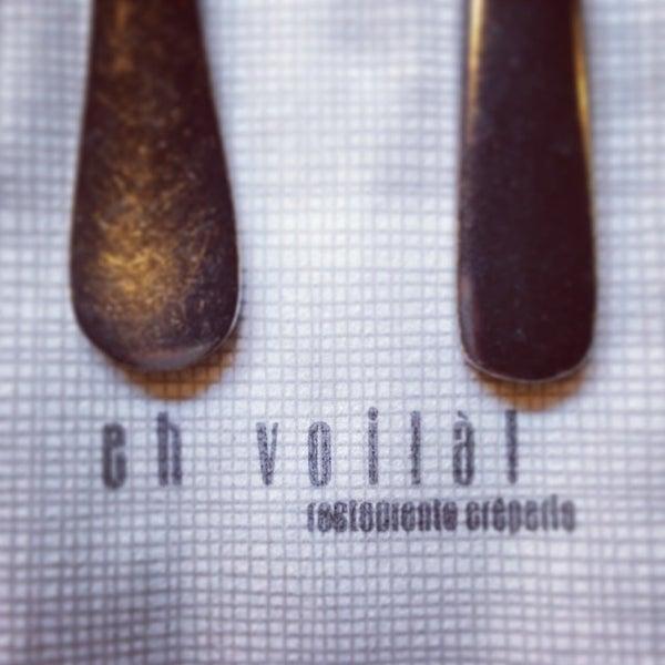 รูปภาพถ่ายที่ Eh Voilà! โดย Crêpería Eh Voilà! V. เมื่อ 12/13/2013