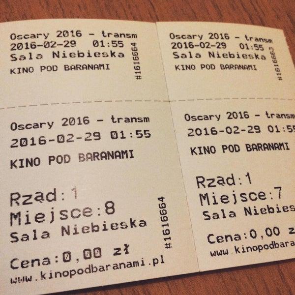 Foto tomada en Kino Pod Baranami por Comoo el 2/26/2016