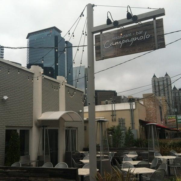 Das Foto wurde bei Campagnolo Restaurant + Bar von Stacy F. am 3/24/2013 aufgenommen