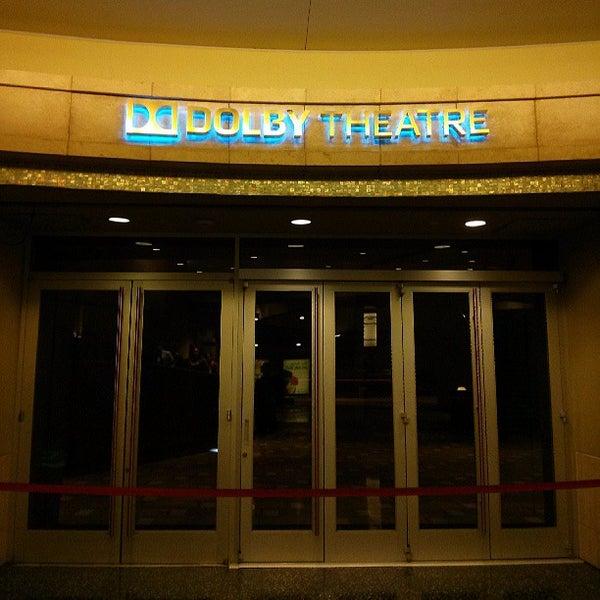 Foto diambil di Dolby Theatre oleh Khalid S. pada 7/12/2013