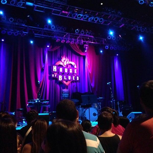 9/17/2013에 Sherry F.님이 House of Blues에서 찍은 사진