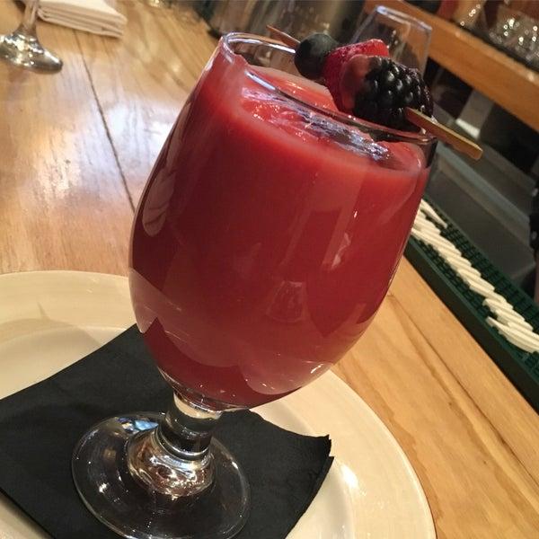 I had the Ambrosia liquid appetizer...... excellent!!!